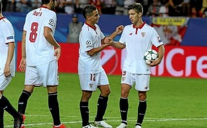 Ben Yedder y Vietto acumulan siete de los ocho goles que suma la delantera del Sevilla hoy por hoy.