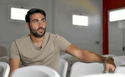 Iborra, durante la entrevista concedida a ESTADIO Deportivo.