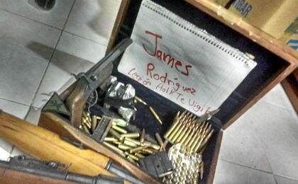 Imagen de una de las amenazas que ha denunciado la madre de James.