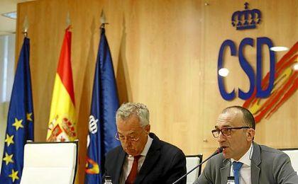 Fernando Puig (CSD) y Javier Gómez (LaLiga) han anunciado la reducción de la deuda con Hacienda de los clubes.