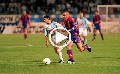 Se cumplen 20 años del histórico gol de Ronaldo al Compostela