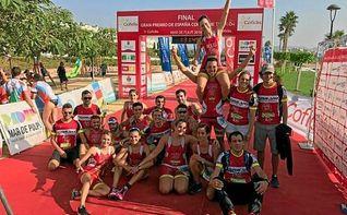 El Club Triatl�n Isbilya asciende a la divisi�n de honor del Triatl�n Nacional