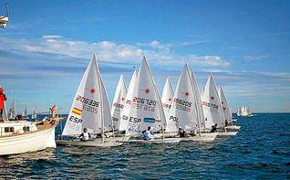 Xammar y Rodr�guez, en 470, y Blanco, en Laser Standard, lideran sus Campeonatos de Espa�a