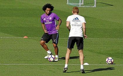Zidane recupera a un jugador clave como Marcelo.