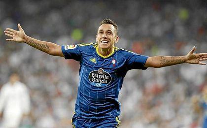 El jugador del Celta de Vigo Orellana ha sido condenado por conducir a más velocidad de la permitida.