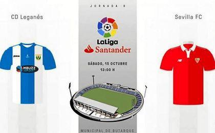 CD Leganés-Sevilla F.C.: En directo