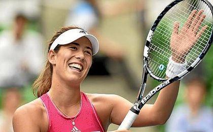 Muguruza se clasific� en el cuadro de dobles en 2014 con Carla Su�rez, y en individuales y dobles en 2015.