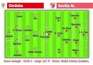 El Sevilla Atlético quiere asaltar el Nuevo Arcángel.