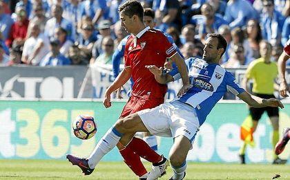 vVietto no marcó en Butarque, pero dio dos asistencias de gol.