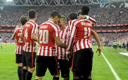 El Athletic venció con brillantez el derbi vasco.