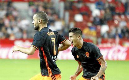 Mario Suárez fue protagonista gracias a su doblete.