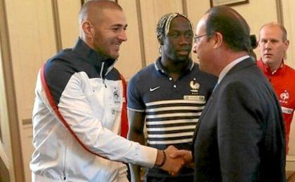 """Hollande: """"Los futbolistas deberían entrenar más el cerebro""""."""