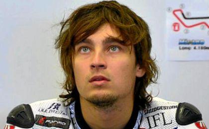 """El piloto de Brno, Abraham: """"Estoy muy feliz: supone volver con Ducati, mi moto favorita""""."""