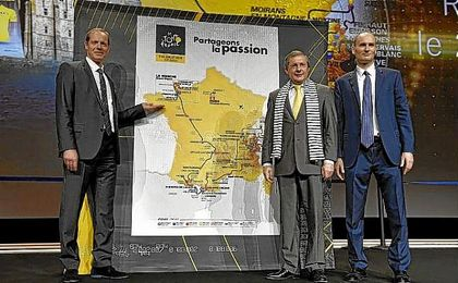 Imagen de la presentaci�n de Tour de Francia 2017.