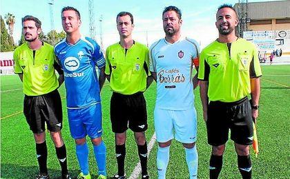 Santiago Blanco, árbitro del pasado Utrera-Castilleja.