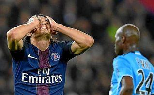 El PSG, incapaz ante el Marsella, pierde de vista al Niza