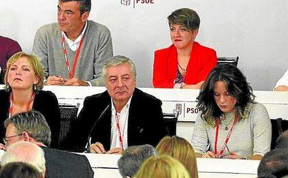 José Blanco fue el presidente de la Mesa del Comité Federal del PSOE, celebrado ayer.