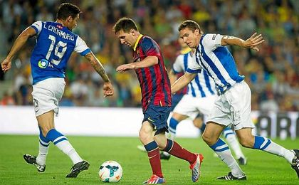 El Barça visitará Anoeta en la decimotercera jornada de Liga.