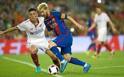 Será la segunda vez esta temporada que el Barça visite Nervión.