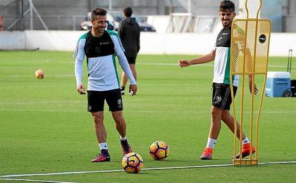 Rubén Castro y Ceballos, durante la sesión de trabajo de este martes.