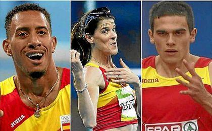 Orlando Ortega, Ruth Beitia y Bruno Hortelano optan al Trofeo José Luis Alonso tras su gran año.