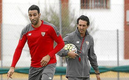 Emery entrenó a Rami en el Valencia y en el Sevilla.