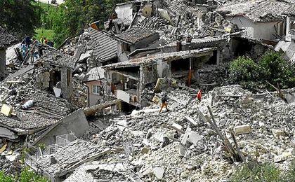 Italia ya sufrió un terremoto de grado 6 el pasado mes de agosto.