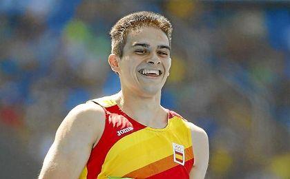Bruno Hortelano se centrará principalmente en la prueba de 200.