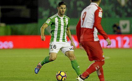 Álvaro Cejudo aboga por pensar ya en sumar los tres puntos en Villarreal.