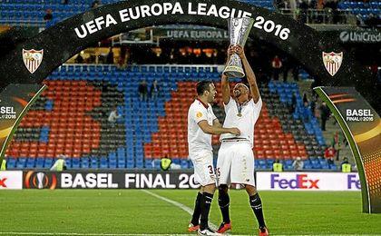 El Sevilla fue campeón de la Europa League, otra vez.