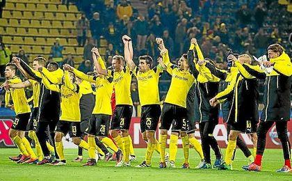 El Borussia de Dortmund es el primer equipo que se clasifica para octavos