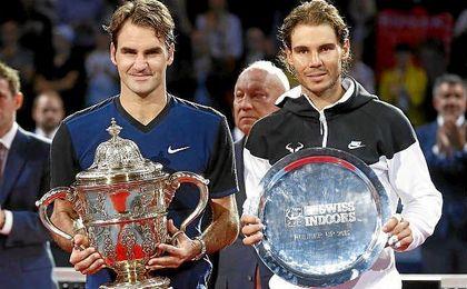 """""""Llegará el tiempo en que no estén Nadal ni Federer""""."""