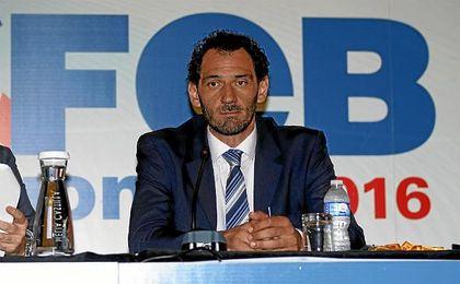 El presidente de la Federación Española de Baloncesto (FEB), Jorge Garbajosa.