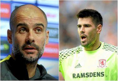 Guardiola y Valdés se verán las caras este sábado.