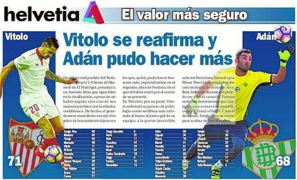 Vitolo se reafirma y Adán pudo hacer más