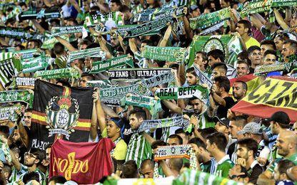 """Supporters Sur """"rompe relaciones con la directiva"""" del Betis"""