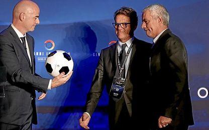 Capello piensa igual que Sampaoli respecto a Messi.
