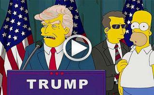Los Simpson predijeron que Trump sería presidente de Estados Unidos
