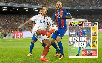 Aleix Vidal ha jugado esta temporada contra el Sevilla.