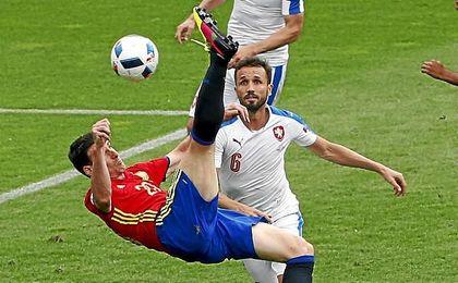 El atacante competirá por estar en el próximo Mundial.