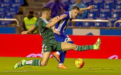 Imagen del Deportivo-Betis de la temporada pasada.