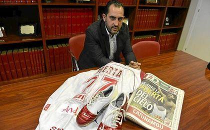 """Iván Blanco asegura que las botas de Puerta """"no tienen precio"""""""