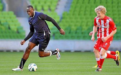 La fecha en la que Bolt participará en el entrenamiento del Dortmund todavía no está definida.