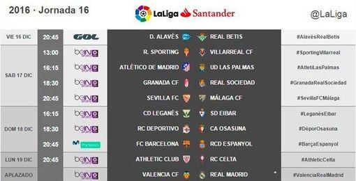 Conoce el horario del Sevilla F.C.-Málaga