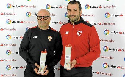 Ambos entrenadores son debutantes en Primera y Segunda esta campaña.