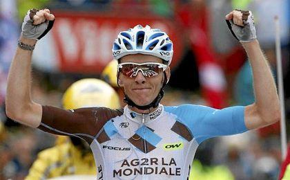 Romain Bardet fue segundo en el Tour de Francia de la temporada pasada.