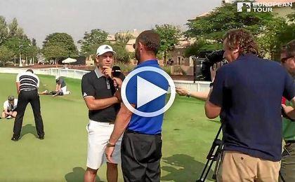 El European Tour de Golf, protagonista de un espectacular 'mannequin challenge'