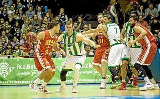 Betis Baloncesto 77-103 UCAM Murcia: Paliza a un equipo sin alma