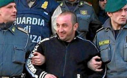 Giovanni Cassano, en el momento de su detención.