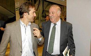 Del Bosque elogia el trabajo de Lopetegui al frente de la selección nacional
